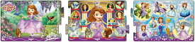 パノラマパズル APO-24-122 ディズニー ちいさなプリンセスソフィア ピンクのペンダント 8+12+16ピース パズル Puzzle 子供用 幼児 知育玩具 知育パズル 知育 ギフト 誕生日 プレゼント 誕生日プレゼント