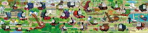 【あす楽】 パノラマパズル APO-24-126 きかんしゃトーマス せんろをつなげて3 18+24+32ピース パズル Puzzle 子供用 幼児 知育玩具 知育パズル 知育 ギフト 誕生日 プレゼント 誕生日プレゼント