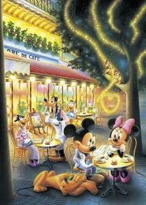 ジグソーパズル TEN-D108-802 ディズニー 恋のカフェテラス(ミッキー・ミニー) 108ピース