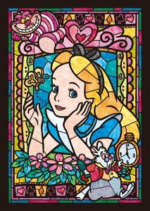 ステンドアートジグソーパズル TEN-DSG266-750 ディズニー アリス ステンドグラス(不思議の国のアリス) 266ピース