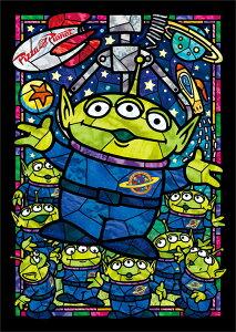 ステンドアートジグソーパズル TEN-DSG266-958 ディズニー エイリアン ステンドグラス(トイ・ストーリー) 266ピース