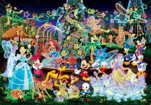 ステンドアートジグソーパズル TEN-DSG500-388 ディズニー マジカルイルミネーション(ミッキー) 500ピース