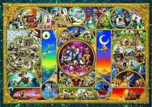 ジグソーパズル TEN-DW1000-260 ディズニー ディズニーキャラクターワールド(ミッキー) 1000ピース