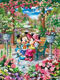 ジグソーパズル TEN-D1000-493 ディズニー 恋咲くロイヤルガーデン (ミッキー・ミニー) 1000ピース パズル Puzzle ギフト 誕生日 プレゼント 誕生日プレゼント