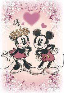 ジグソーパズル YAM-97-188 ディズニー KIRIART-Mickey & Minnie-(ミッキー・ミニー) 70ピース
