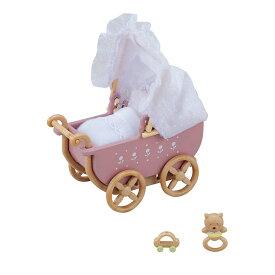 【あす楽】 おもちゃ カ-205 シルバニアファミリー うば車[CP-SF] 誕生日 プレゼント 子供 女の子 3歳 4歳 5歳 6歳 ギフト お人形 シルバニア