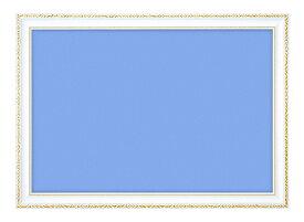 パネル・フレーム BEV-00443 木製豪華フレーム アンティークホワイト 10 / No.14 50×75cm(ラッピング不可)