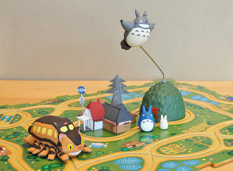 レールパズル ENS-RP-01 となりのトトロ ネコバスレールパズル〜松郷セット〜 パズル Puzzle ギフト 誕生日 プレゼント
