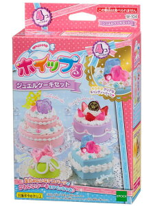 おもちゃ W-104 ホイップる ジュエルケーキセット[CP-WH] 誕生日 プレゼント 子供 女の子 男の子 6歳 7歳 8歳 ギフト パティシエ ホイップル
