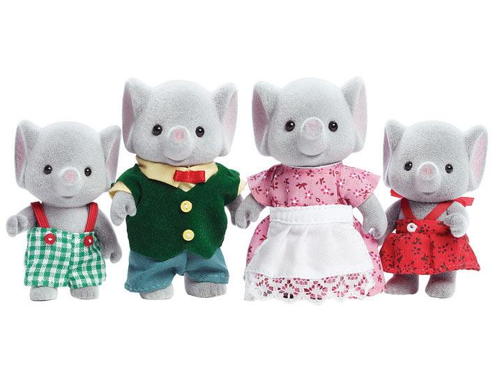 おもちゃ US シルバニアファミリー ゾウファミリー[CP-SF] 誕生日 プレゼント 子供 女の子 3歳 4歳 5歳 6歳 ギフト お人形 シルバニア