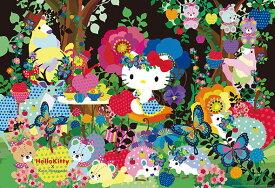 ジグソーパズル BEV-91-134 ホラグチカヨ ハローキティ 森のお茶会 1000ピース[CP-HO] パズル Puzzle ギフト 誕生日 プレゼント