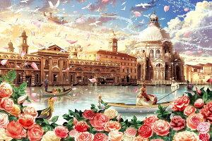 【あす楽】 ジグソーパズル EPO-12-060 イラスト ヴェネツィアン ロマンス 1000ピース パズル Puzzle ギフト 誕生日 プレゼント