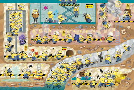 ジグソーパズル YAM-10-1358 ミニオンズ 地下のシークレット・ベース 1000ピース パズル Puzzle ギフト 誕生日 プレゼント