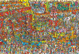 ジグソーパズル BEV-S92-503 ウォーリーをさがせ! Where's Wally? おもちゃがいっぱい 2000ピース パズル Puzzle ギフト 誕生日 プレゼント 誕生日プレゼント