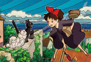 ジグソーパズル ENS-300-AC046 魔女の宅急便 コリコの町が好き! 300ピース パズル 透明パズル Puzzle ギフト 誕生日 プレゼント 誕生日プレゼント