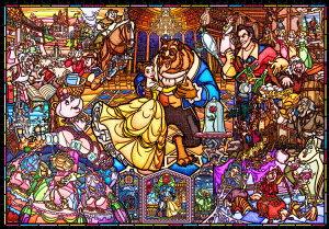 ジグソーパズル TEN-DP1000-035 ディズニー 美女と野獣 ストーリーステンドグラス (美女と野獣) 1000ピース パズル Puzzle ギフト 誕生日 プレゼント