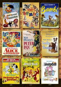 ジグソーパズル TEN-D1000-064 ディズニー Movie Poster Collection Disney Animations(オールキャラクター) 1000ピース パズル Puzzle ギフト 誕生日 プレゼント 誕生日プレゼント