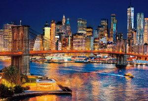 ジグソーパズル BEV-51-280 風景 ニューヨーク ナイトビュー 1000ピース パズル Puzzle ギフト 誕生日 プレゼント