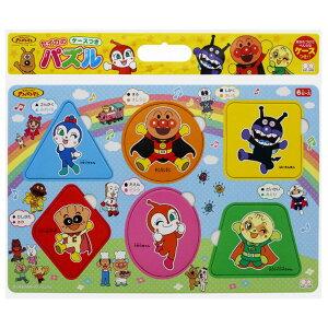 板パズル SUN-30958 アンパンマン ハッピーロッピーパズル6P かたちAP 6ピース パズル Puzzle 子供用 幼児 知育玩具 知育パズル 知育 ギフト 誕生日 プレゼント 誕生日プレゼント