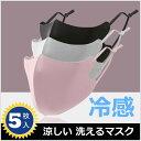 在庫処分 マスク 洗える マスク 5枚 マスク 個別包装 マスク 大人用 抗菌 マスク セット 長さ調整可能 紫外線対策 四…