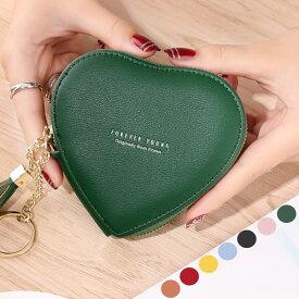 送料無料 レディース 財布 小さい財布 ハート型 小さい 軽い 使いやすい財布 小銭入れ 大きく開く 可愛い おしゃれ プチプラ クレジットカード ポイントカード カード入れ
