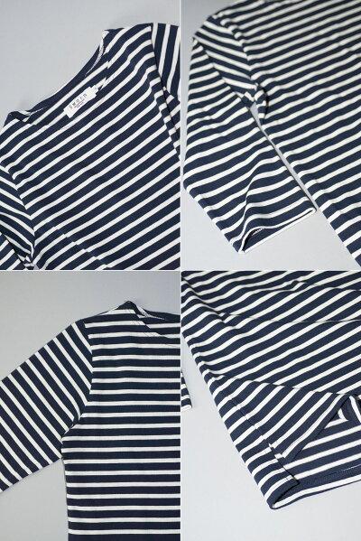 ボーダー7分Tシャツ大人カジュアル5色16番糸リネンワンピースリネン生地リネンエプロンリネンパンツリネンスカートリネンコートリネンカーテンリネンシャツリネンブラウスリネンフォーマル母の日ギフト