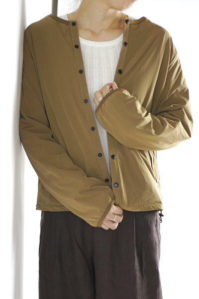 お家でお洗濯ノーカラージャケット
