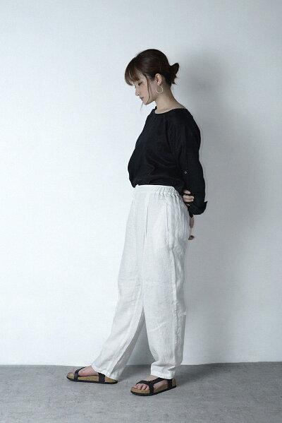 麻/リネン/レディースファッション/