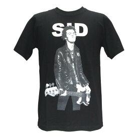 送料無量 シド・ビシャス Sid Vicious セックス・ピストルズ Sex Pistols プリントTシャツ バンドTシャツ レディース メンズ
