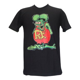 送料無料 ラットフィンク Rat Fink R.F.エド ロス Big Daddy ビックダディ プリント Tシャツ バンドTシャツ レディース メンズ Tシャツ