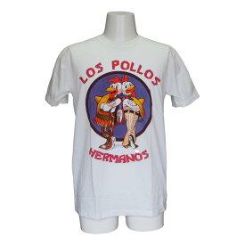 送料無料 ブレイキングバッド Los Pollos ガス・フリング ハイゼンベルグ セレクトTシャツ ユニセックス 面白い デザイン 誕生日 プレゼント 彼氏 ギフトバッグ 袋 贈り物