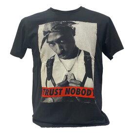 送料無料 TUPAC 2PAC テューパック バンド HIPHOP RAP Tシャツ メンズ レディース ロック 黒 ブラック セレクト ユニセックス デザイン 誕生日 プレゼント 彼氏 ギフトバッグ 袋 贈り物
