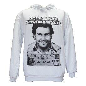 送料無料 セレクト パーカー パブロ エスコバル Pablo Escobar ナルコス ジョーク 海外デザイン おもしろい バンドT ロックT パロディパーカー トレーナー レディース メンズ ユニセックス netflix ネットフリックス
