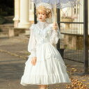 Lolita ロリータ ワンピース ウエディング ドレス ブライダル ゆめかわいい ゴシック ゴスロリ ブラック ホワイト コスチューム 衣装 花嫁 コスプレ 小悪魔 ゴージャス S M L XL