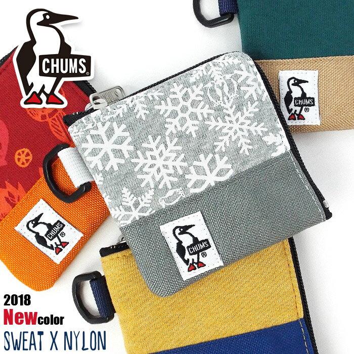 チャムス CHUMS 財布 コインケース 小銭入れ スウェットナイロン ch60-0693 メンズ レディース キッズ