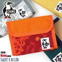 チャムス 財布 二つ折り財布 CHUMS スウェットナイロン ch60-0696 メンズ レディース キッズ