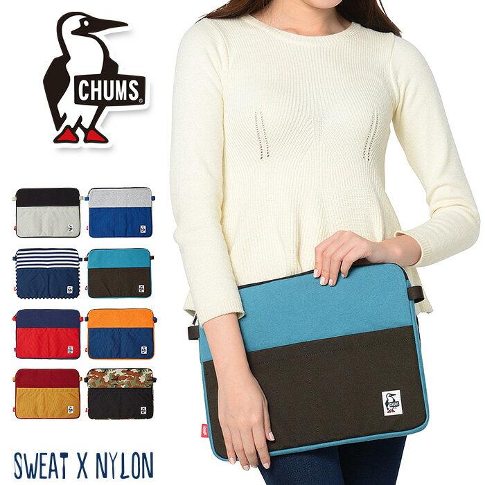 CHUMS チャムス ドキュメントケース バッグインバッグ スウェットナイロン ch60-2180 かわいい メンズ レディース 大人 通学 高校生