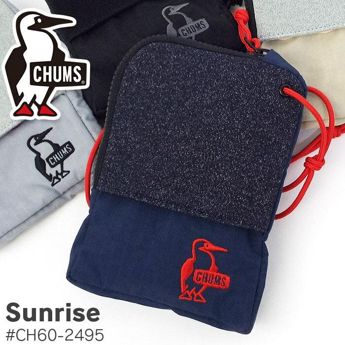 【200円OFFクーポン付き】 チャムス 財布 小銭入れ 小物入れ CHUMS Sunrise ch60-2495 メンズ レディース キッズ