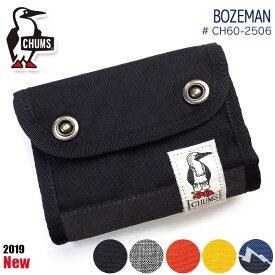 チャムス CHUMS 三つ折り財布 小銭入れ Bozeman ch60-2506 メンズ レディース キッズ アウトドア ミニ財布