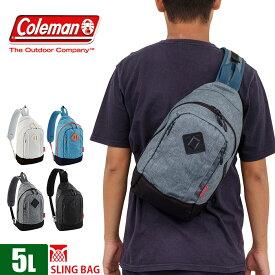 coleman コールマン ボディバッグ 5L 全5色 オフザグリーン スリングバッグ COG5071 メンズ レディース ショルダー 斜めがけ