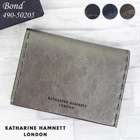 キャサリンハムネット 財布 名刺入れ KATHARINE HAMNETT BOND 490-50205 メンズ レディース 革 本革 迷彩