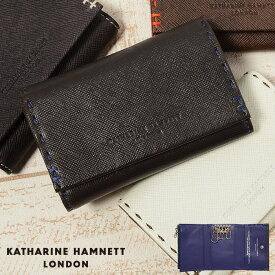 キャサリンハムネット 財布 キーケース 小銭入れ KATHARINE HAMNETT カラーテーラード 490-51910 メンズ 革 レザー