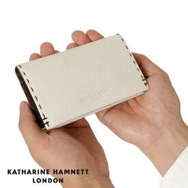 あす楽対応 KATHARINE HAMNETT/キャサリンハムネット/カラーテーラード カードケース/財布 490-51914 【ブランド】【革】【メンズ】【レディース】【男女兼用】