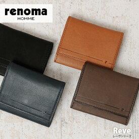 renoma HOMME レノマオム 名刺入れ Reve 506602 【メンズ】【革】