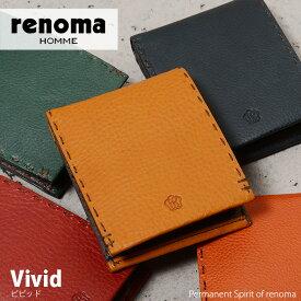 レノマ renoma 二つ折り財布 ビビッド 507612 メンズ 革 送料無料 財布 あす楽対応 送料無料