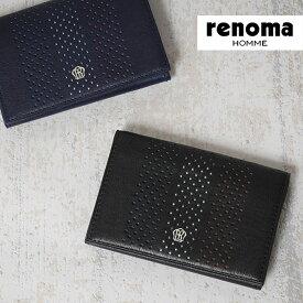 レノマ renoma 名刺入れ タラン 526601 【メンズ】【革】【送料無料】【財布】【あす楽対応】【送料無料】