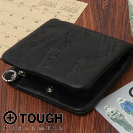 TOUGH タフ 二つ折り財布 インプレッション 55781 メンズ