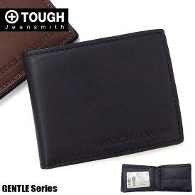TOUGH タフ 二つ折り財布 メンズ ジェントル 68357 革 レザー