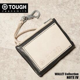 SALE TOUGH タフ 財布 二つ折り財布 パスケース ノートフォー 69013 メンズ 革 レザー プレゼント ギフト ポイント2倍