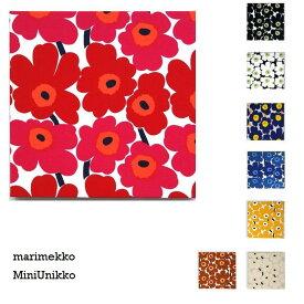 単品 ファブリックパネル アリス marimekko miniunikko 30×30cm 単品販売 各カラー有 赤 青 黒 オレンジ ホワイト ネイビー ナチュラル ブラウン マリメッコ ミニウニッコ 北欧 インテリア